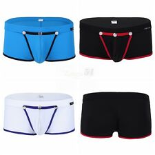 NEW Smooth Mens Sexy Lingerie Bulge Pouch Bikini Boxer Briefs Shorts Underwear
