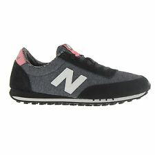 New Balance 410 Optic Pop Black Grey Womens Trainers