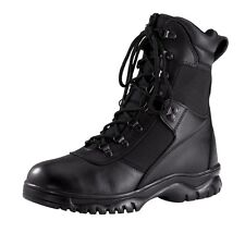 Rothco Forced Entry 5052 Black Tactical Waterproof Boots for Police/SWAT/EMT/EMS