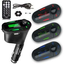 Car Kit MP3 Player Wireless FM Transmitter Modulator USB SD MMC LCD Remote BE