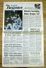 1987 newspaper MINNESOTA TWINS WIN baseball WORLD SERIES vs St Louis Cardinals