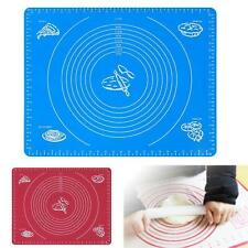 Silicone Rolling Cut Mat Sugarcraft Fondant Cake Clay Pastry Icing Dough Tool BY