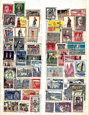 Greece/France collection....album page with used stamps