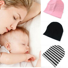 Candy Color Cotton Baby Beanie Hat Elastic Infant Kids Cap Boy Girl Cute Hat