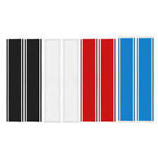 2x Universal 10'' Hood Racing Rally Stripes Auto Graphic Decal Vinyl Car Truck