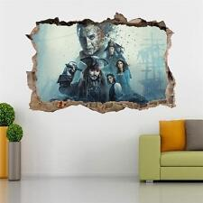 Pirates Of The Caribbean Smashed Wall Decal Graphic Sticker Home Art Mural J163