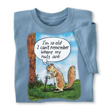 MensSquirrel Nuts Novelty Tee, by Collections Etc