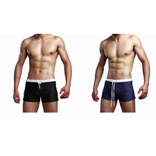 Mens Swimming Shorts Briefs Swim Trunks Aquashort Boxer Shorts Beach Shorts