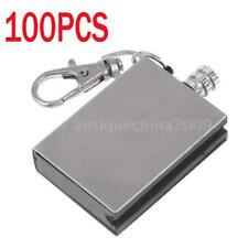 100X Survival Emergency Camping Fire Starter Metal Perma Match Lighter BL U8Y1