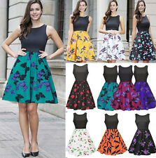 Vintage Style 1940s1950s Retro 1960 Rockabilly Swing Party Evening Prom Dress