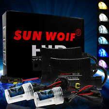 SUNWOLF 55W Xenon Light HID Headlights Conversion Kit H1 H3 H7 H11 H13 9006 9007