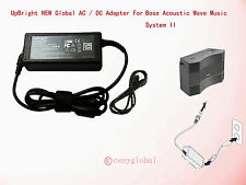 Ac Adapter Power Cord For Bose Acoustic Wave Music System II 2 11 CD3000 CD-3000