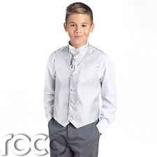 Boys Silver & Grey Suit, Page Boy Suits, Boys Wedding Suits, Boys Suits, Swirl