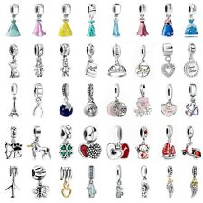 European Pendant Silver 925 Charms Bead Dangle Fit Sterling Bracelets Necklace