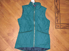 BNWT LADIES JOULES HARTLAND QUILTED GREEN GILET SIZE 8.RRP £34.95 LAST 1 LEFT!!!