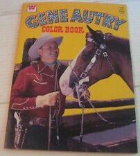 VINTAGE Gene Autry Coloring book UNCOLORED 1975 EX+++ to NM