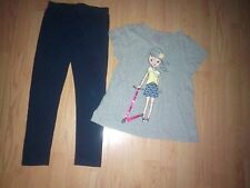 CHILDRENS PLACE & CIRCO 2 PIECE GIRLS OUTFIT SIZE 6-7-8