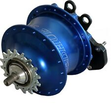 Rohloff Speedhub 500/14 blue for V-Brake, Screw axis or Quick release skewers