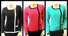 New Ladies Vtg 1950's 1960's Iconic Retro style Pin-up MOD Sweater Jumper Top