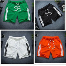 Boys Mens Gym Athletic Jogger Beach Casual Shorts Quick Dry Trousers Pants M-2XL