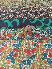 Liberty Tana Lawn Scrap Fabric 5 Pieces Crafts & Quilting And Embellishments