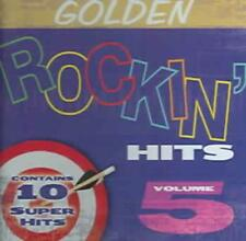 VARIOUS ARTISTS - GOLDEN ROCKIN HITS, VOL. 5 USED - VERY GOOD CD