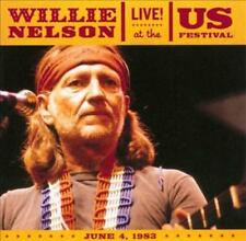WILLIE NELSON - LIVE! AT THE U.S. FESTIVAL 1983 USED - VERY GOOD CD