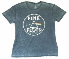 Pink Floyd Dark Side Of The Moon NA Tour 1973 Burnout Blue T Shirt New Official