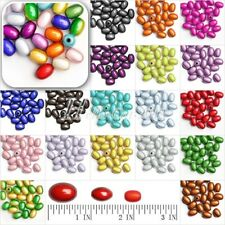 10/15/25pcs 3D Illusion Oval Miracle Acrylic Beads DIY Jewelry Making 11/14/19mm