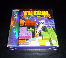1980'S,80'S,90'S NINTENDO GAME BOY COLOR TETRIS DX TOY CARTRIDGE GAME.BOXED.L@@K