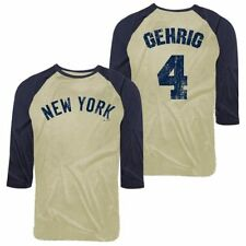 Lou Gehrig Majestic Threads New York Yankees T-Shirt - MLB