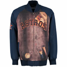 Houston Astros G-III Sports by Carl Banks Slugger Varsity Full-Zip Jacket - MLB