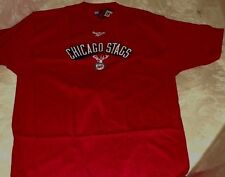 Chicago Bulls Throwback T-shirt Hardwood Classics Chicago Stags Coolest Logo NBA