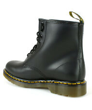 Dr Martens 1460 Smooth Black Leather 8 Eye Ankle Unisex Ankle Boots Size 3-15