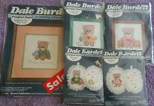 CHOOSE ONE: DALE BURDETT COUNTRY CROSS STITCH KITS - PITIFUL PALS  - Teddy Bears