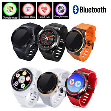 Bluetooth S99 GSM 3G Quad Core Android 5.1 Smart Phone Watch GPS WiFi 8GB