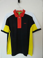 "NWT HUGO BOSS SOCCER WORLD CUP ""PREK FLAG"" GERMANY POLO SHIRT MODERN FIT"