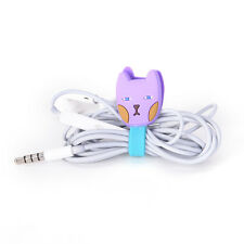 1pcs Cable Winder Clip Headphone Earphone Winder Cable Cord Wrap Organizer LA