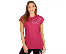 Fox Women's Perservering Roll Sleeve Tee - Burgundy