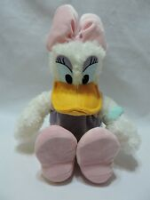 "Daisy Duck Plush Stuffed Animal 15"" Toy Disney Parks Purple Pink Soft Eyes"