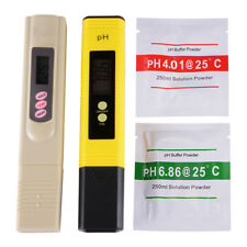 Digital pH Meter +  Tester Solid Lab Aquarium Pool Hydroponic Water Monitor
