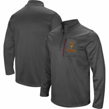 Arizona State Sun Devils Stadium Athletic Mens Poly Fleece Qz Outerwear