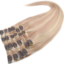 NEW 8A 20'' 160g 10pcs/Set 100% Remy Human Hair Clip In Human Hair Extensions