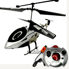 3CH RC Remote Control Mini Helicopter Gyro Silver Easy Fly Ship with Tracking