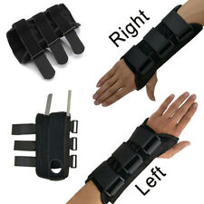 Wrist Hand Brace Palm Support Metal Carpal 2 Tunnel Tendonitis Band Pain Relief