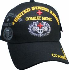 United States Army Combat Medic Shadow Mens Cap