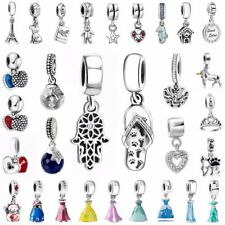 European 925 Jewelry Silver Charms Bead Pendant Fit Sterling Bracelets Necklace
