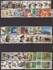 LOT#325(q-s) GB QEII COMMEMORATIVE STAMPS Mixed Lots (Multiple Listing) USED
