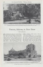 1914 Antique Magazine Article, Tucson, Arizona., in New Dress