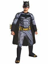 Batman Vs Superman Deluxe Muscle Chest DC Comic Superhero Boys Costume